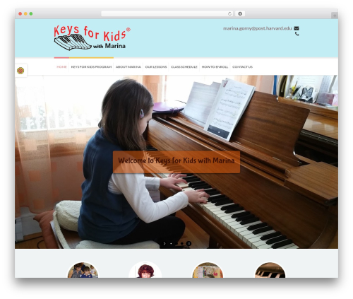 WordPress theme Kidslife - keys-for-kids-newton.com