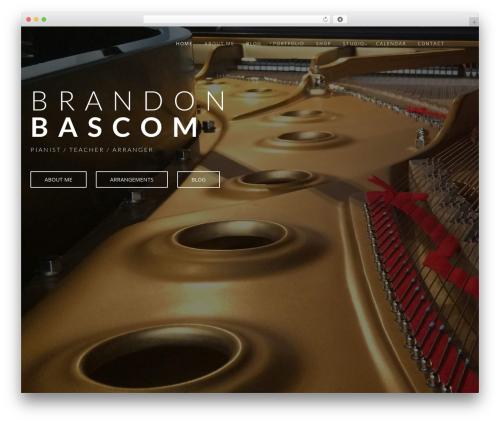 Wp Haswell WP theme - brandonbascom.com