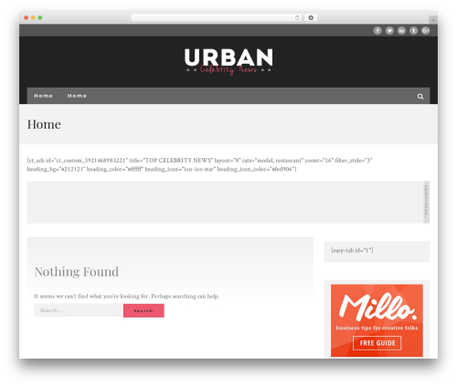 UrbanNews newspaper WordPress theme - improvementlovers.com