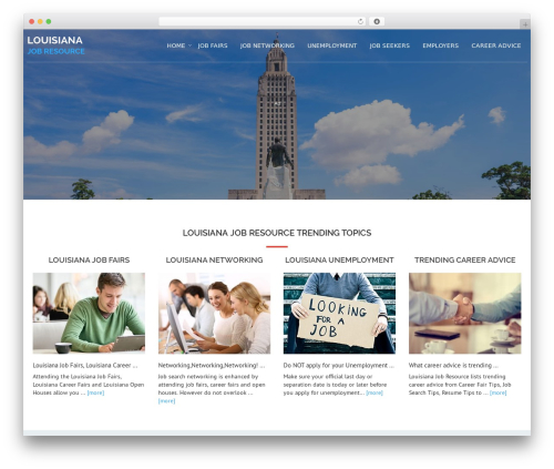 Avion WP theme - louisianajobresource.com