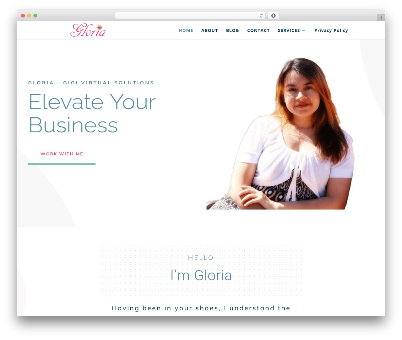 Divi WordPress blog template - confessionsofasahmsite.com