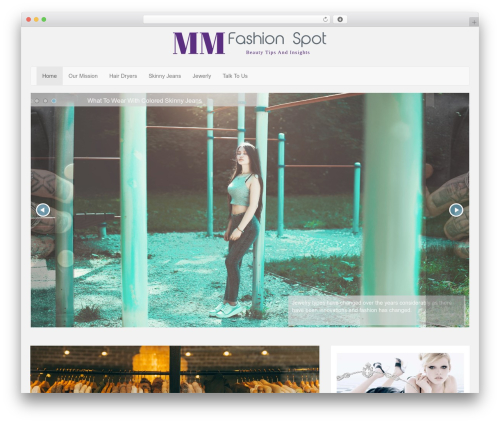 LineDay free WordPress theme - marymebridalstore.com