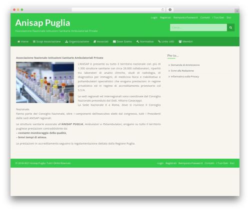 Store Pro WordPress shopping theme - anisappuglia.com