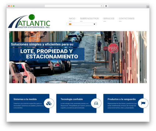 Theme WordPress Arkitekt - atlanticmaster.com