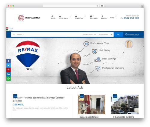 Theme WordPress CozyHouse - remaxmuratdemir.com