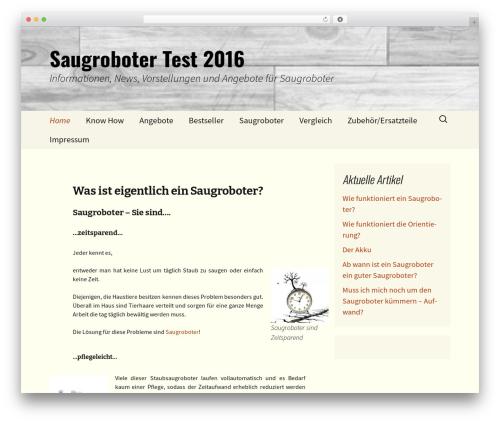 Twenty Thirteen WordPress free download - saugroboter-im-test.com