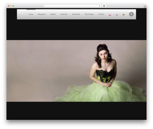 WordPress theme Ideas Fullscreen for WordPress (Share on Theme123.Net) - petrahavrankova.com