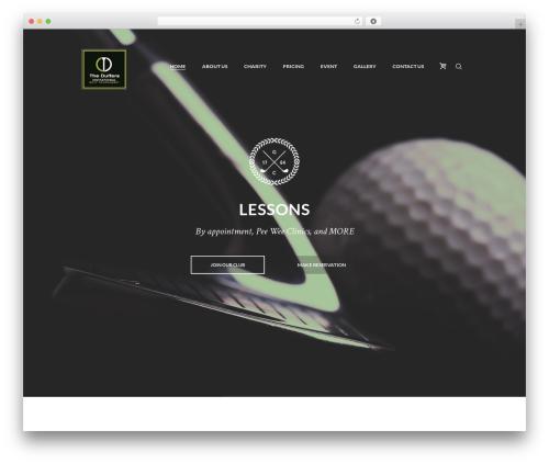 Best WordPress template N7 Golf Club - theduffersinvitational.com