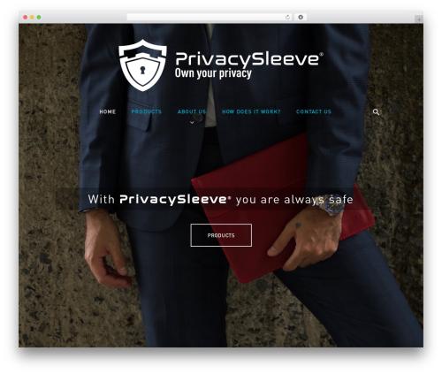 Caldera WordPress theme - privacysleeve.com