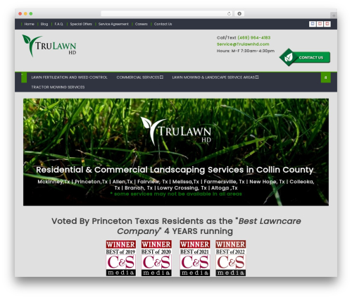 Eggnews WordPress news theme - trulawnhd.com