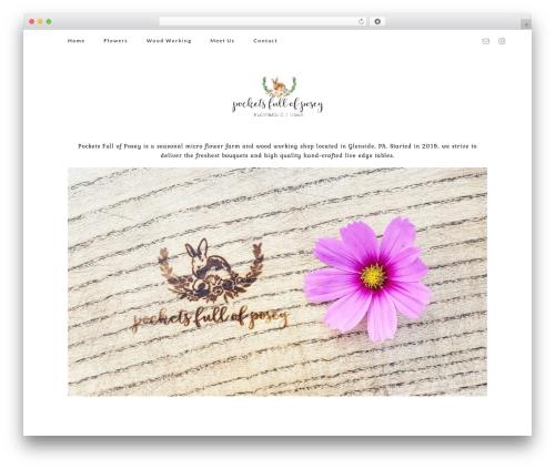 Elle template WordPress - pocketsfullofposey.com