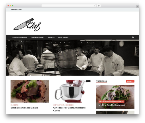 HitMag Pro WordPress theme - 86edchef.com