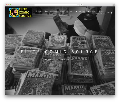 ShopIsle PRO WordPress shop theme - elitecomicsource.com