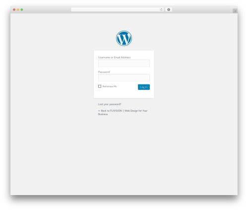 Template WordPress Salient - flivision.com