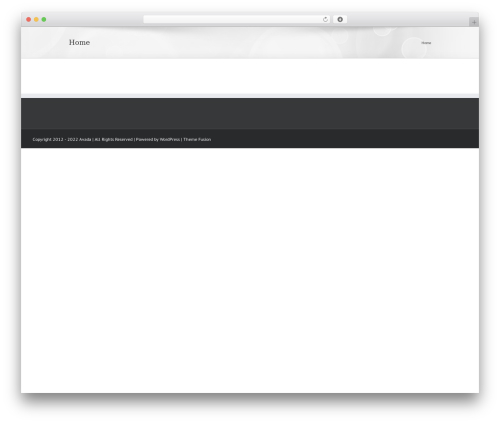 Theme WordPress Avada - riadzehar.com