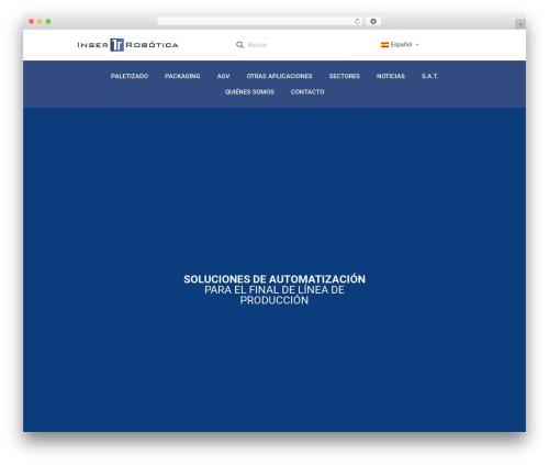 Theme WordPress Betheme - inser-robotica.com