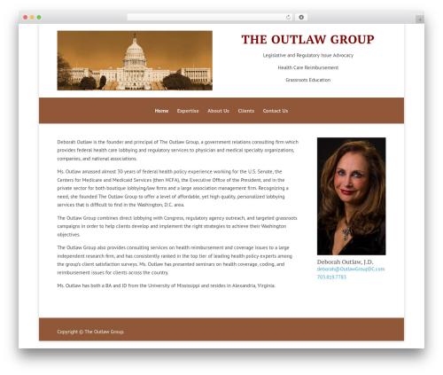 WordPress theme Divi - outlawgroupdc.com