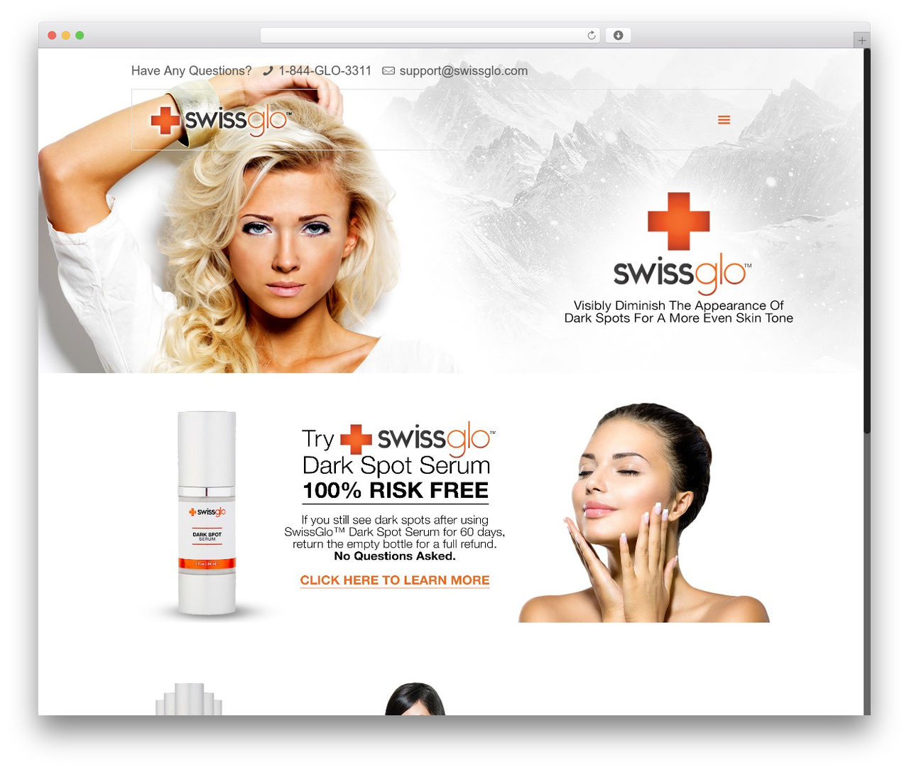 WordPress website template Betheme - swissglo.com