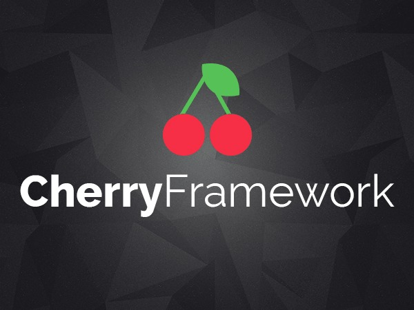 WordPress website template Cherry Framework