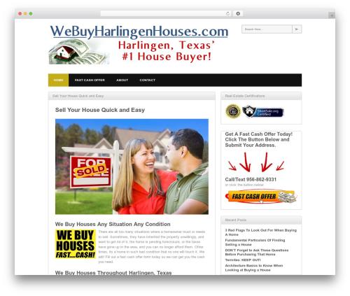WP theme Yume Tan - webuyharlingenhouses.com