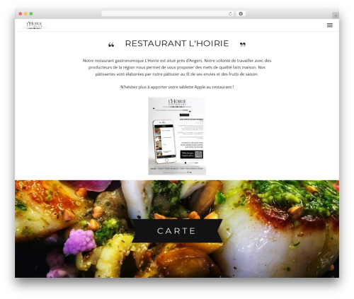 Awe-Ambrosia theme WordPress - restaurant-lhoirie.com