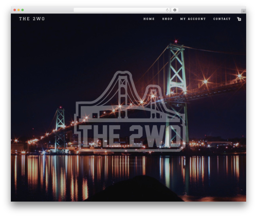 Best WordPress template Shop Isle - the2wo.com