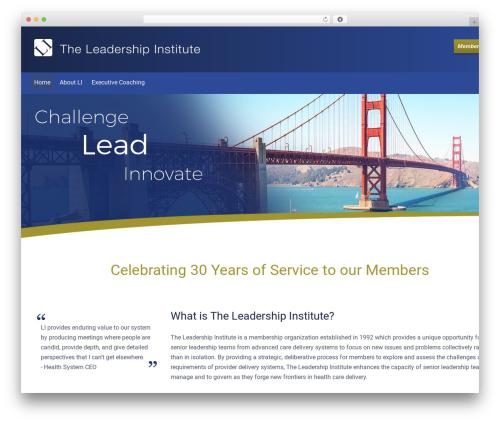 Free WordPress Slick Sitemap plugin - theleadershipinstitute.com