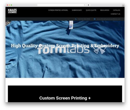 Cannyon_ WordPress website template - kaulesscreenworks.com