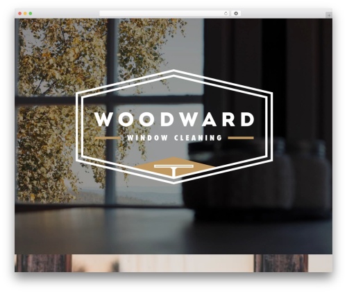 Divi company WordPress theme - woodwardwindowcleaning.com