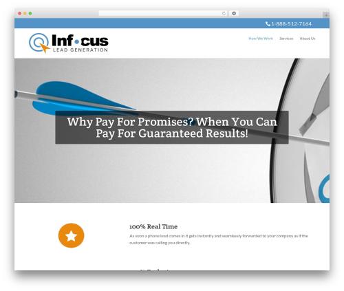 Divi WordPress theme - infocusleadgeneration.com