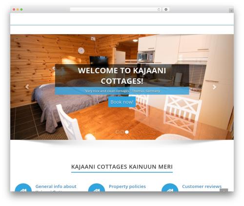Enigma best free WordPress theme - kajaanicottages.com