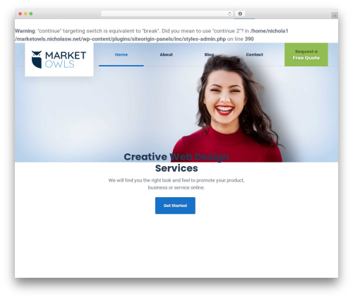 GrowthPress PT top WordPress theme - marketowls.com