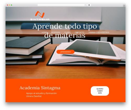 MelodySchool WordPress theme - academiasintagma.com