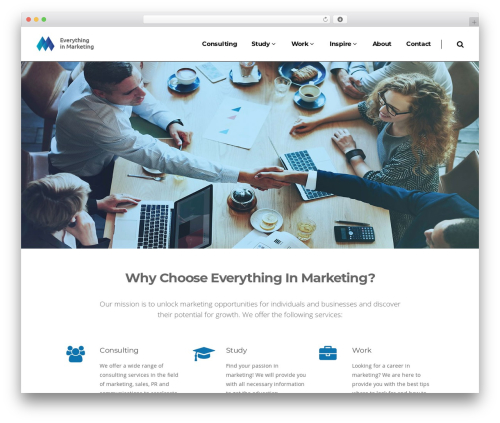 Pitch WordPress theme - everythinginmarketing.com