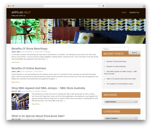 SKT Coffee WordPress template free - appsadhelp.com