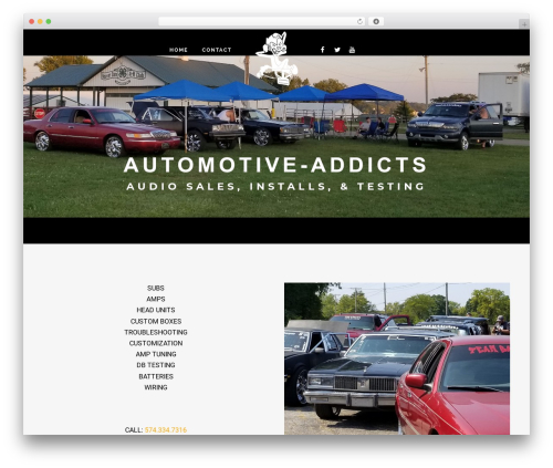 TattoPro automotive WordPress theme - automotive-addicts.com