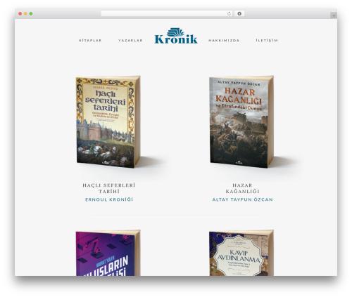 Theme WordPress Bridge - kronikkitap.com