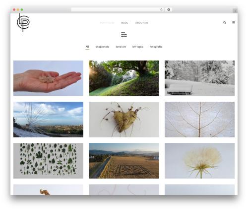 Theme WordPress Mountain - liviapaoladichiara.com