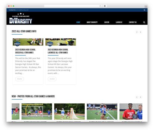 AllStar template WordPress - divarsity.com
