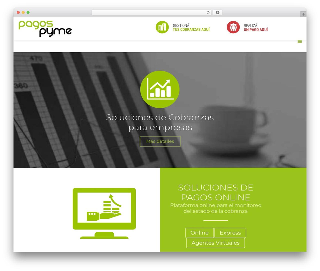 Betheme top WordPress theme - pagospyme.com