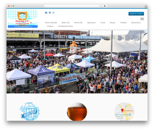 Customizr free WP theme - atlantawinterbeerfest.com