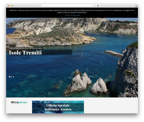 Olympus Inn WordPress theme - hotelsandomino.com