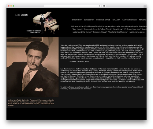 Theme WordPress Berliner - leorobin.com