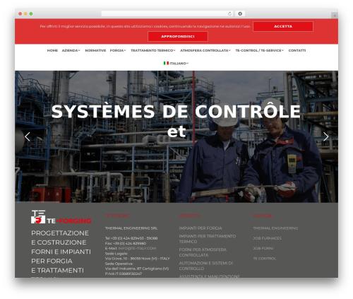 WordPress website template Shopkeeper (Shared on MafiaShare.net) - te-forging.com
