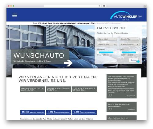 BLANK Theme WordPress theme - autowinkler.com