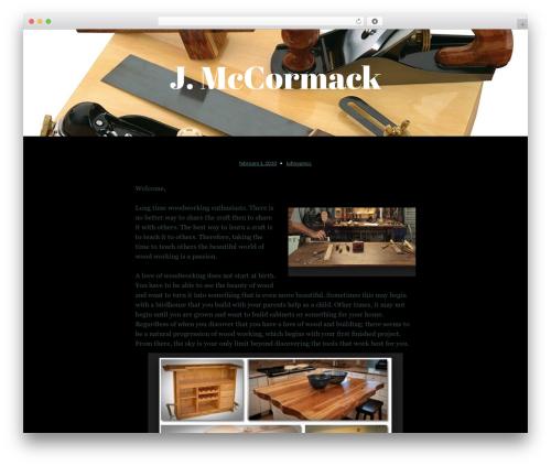 Lyretail free WordPress theme - johnpmccormack.com