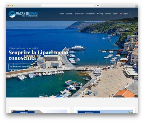 Olympus Inn best WordPress theme - vacanzelipari.com