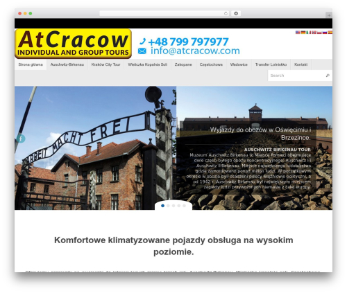 Tempera WordPress template free download - atcracow.com