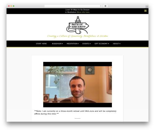 Template WordPress Penscratch - pathofsincerity.com