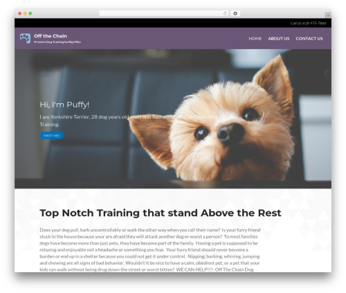 WordPress theme Layers Dawg - offthechaindt.com